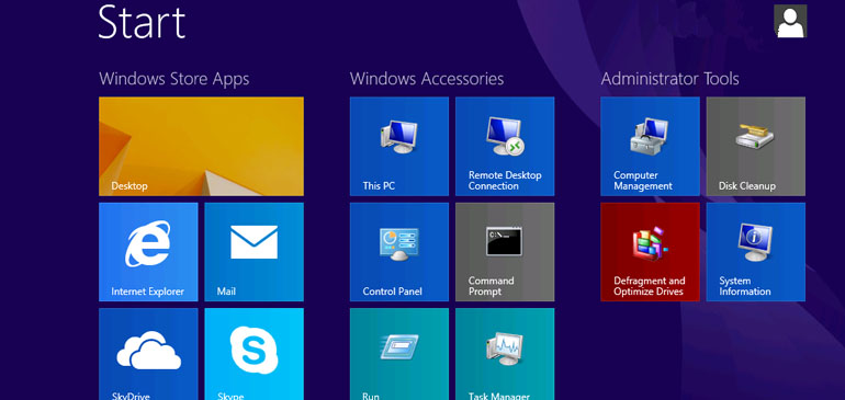 Use Group Policy to provide users a standard Windows 8.1 Start Screen